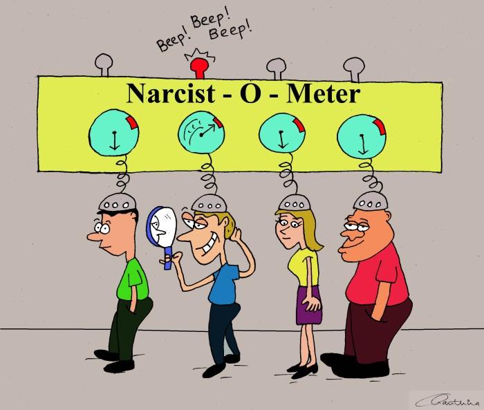 herken de narcist