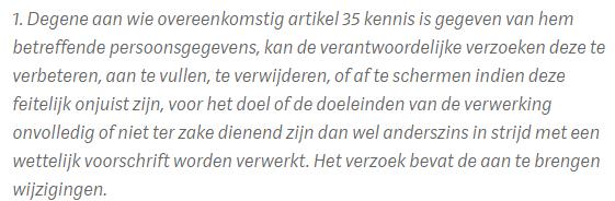 artikel 36 wbp